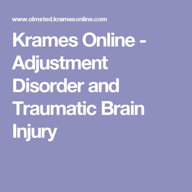 Krames Online - Adjustment Disorder and Traumatic Brain Injury