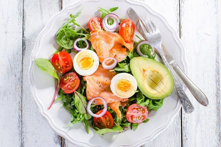gezonde lunch eten om af te vallen