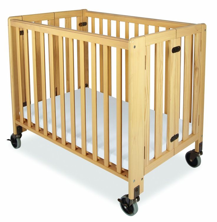 buy pocket furniture baby la foldable folding mini portable in crib natural cribs from