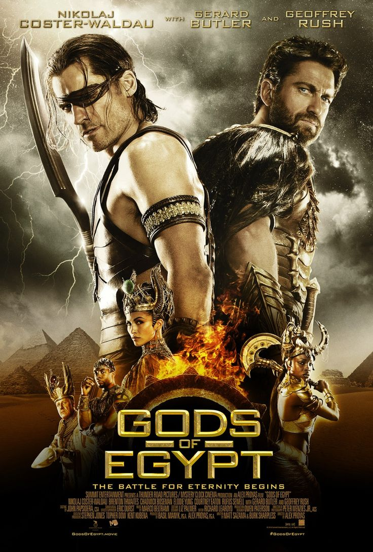 Gods of Egypt Movie Poster 3