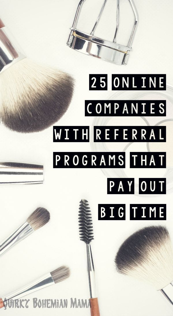With enough referrals you can shop practically for free AND often times your friends get bonuses too. Refer and Earn: 50 Companies with Referral Programs that Pay Out Big Time. Refer a friend and earn money.  Get money for Christmas. Make money fast. make money for christmas #christmas