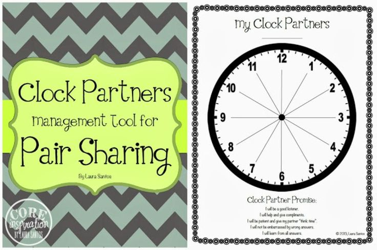 Manage pair sharing in your classroom with the Clock Partner management tool.