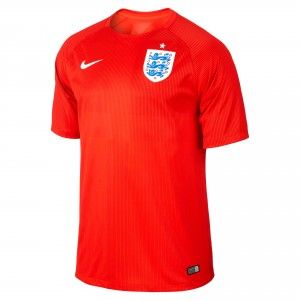 NIKE England 2014 Away Shirt Mens - Red
