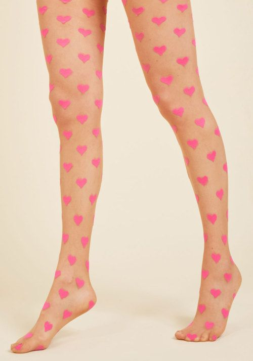 3ca403fe8a37e pink heart tights   Hosiery Wishlist in 2019   Heart tights, Pink ...