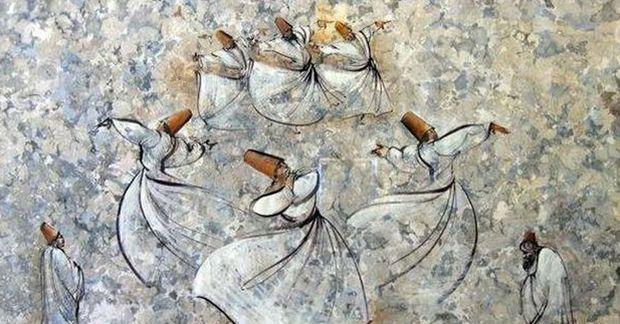 Ebru, starověké umění z Turecka, užité umění formu,