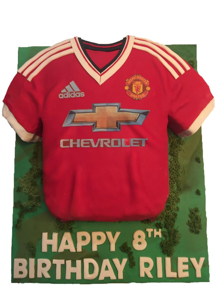 Manchester United Cake Toppers For Birthdays