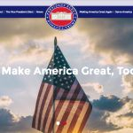 Donald Trumps campaign slogan is now an official government website