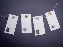 Anhänger, gift tags