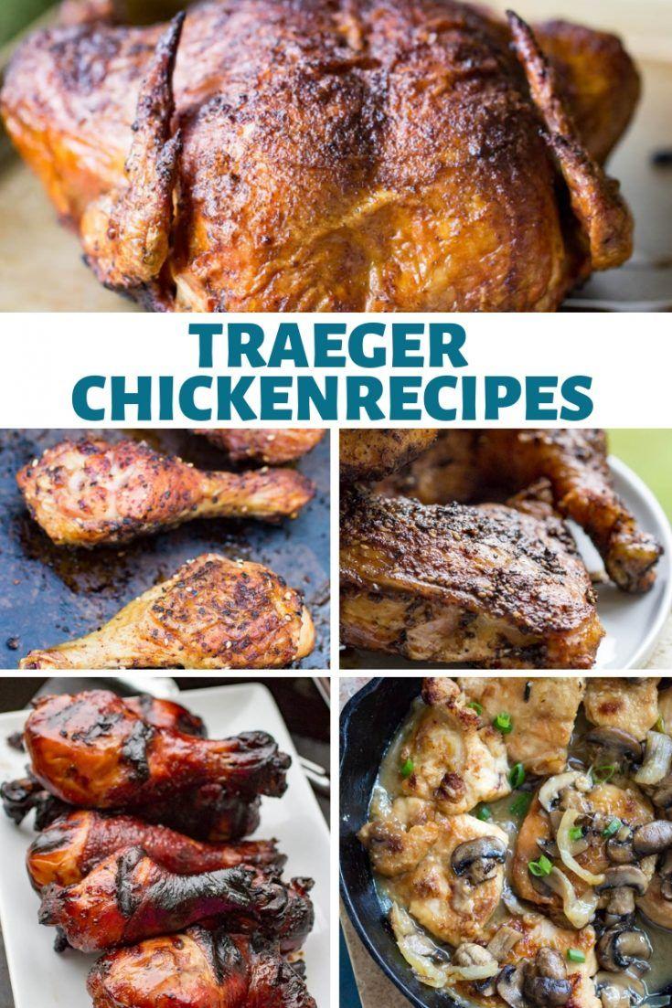 Easy Traeger Chicken Recipes Smoked Chicken Recipes