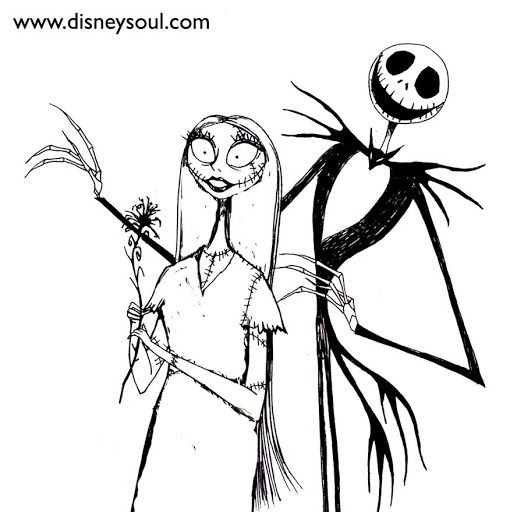How To Draw Nightmare Before Christmas Characters t