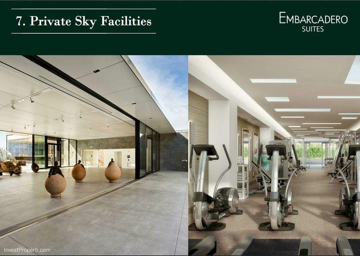 Privacy Sky Facilities @ Embarcadero Suites Bintaro Jaya