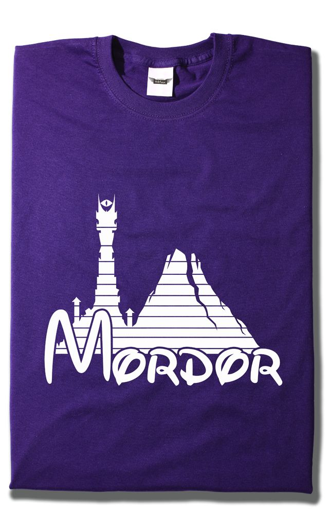 Camiseta Disney Mordor