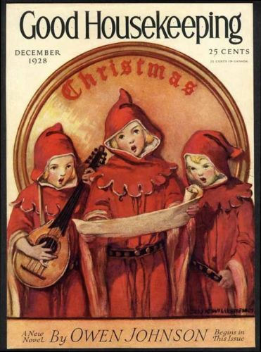 Christmas Jessie Willcox Smith Cover Only 1928 Young Children Singing | eBay