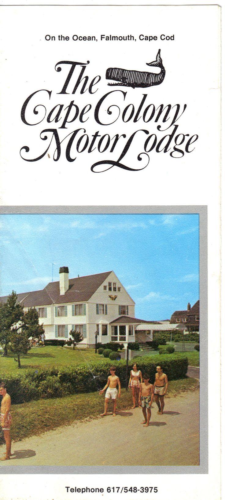 The Cape Colony Motor Lodge Brochure