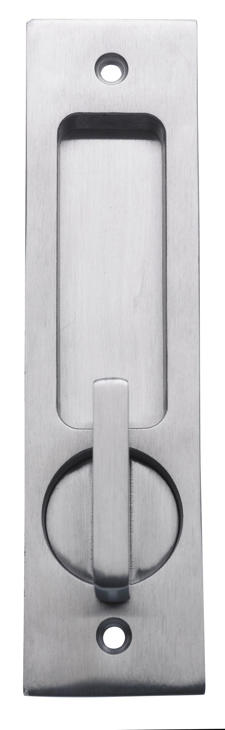 Linnea PL-160R Round Privacy Pocket Door Lock