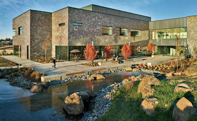 St. Anthony Hospital by ZGF Architects in Pendleton, Oregon