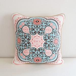 Twisted Cushion from Deep Dark Africa