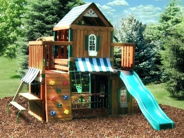 Swing Set Best Kids Sets Images On For Sale Cedarworks Used Wooden Cedar Are Chemical Free Splinter Play Chi Play Houses Swing Set Diy Backyard Play