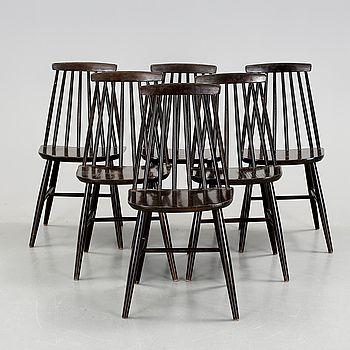 """PINNSTOLAR, 6 st, """"Tellus"""", IKEA, 1960-70-tal."""