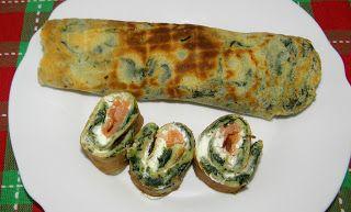 zadanie - gotowanie: Pinaatti lettuja - fińskie naleśniki ze szpinakiem...