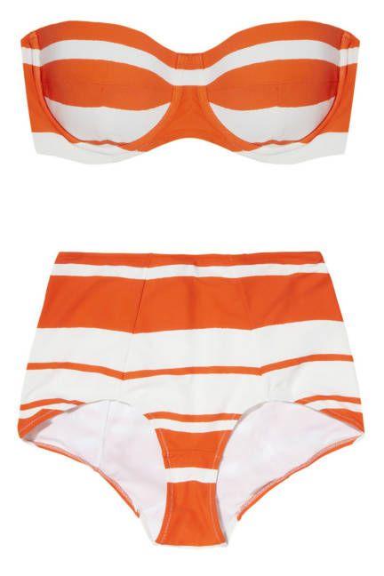 '50s-inspired bikini from Dolce & Gabbana #hourglass
