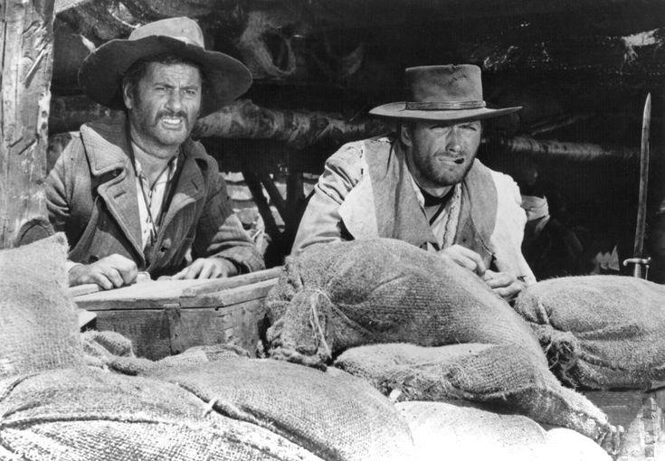 """In """"Zwei glorreiche Halunken"""" trat Wallach an der Seite von Clint Eastwood als der hässliche Bandit Tuco auf."""