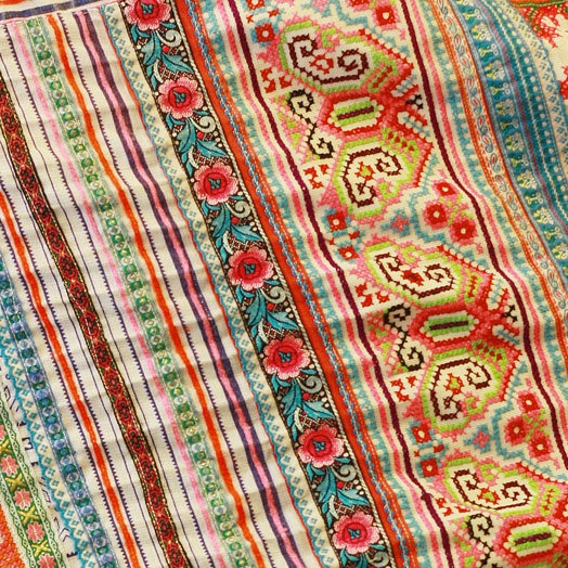 Scarf from Thailand? Looks South American