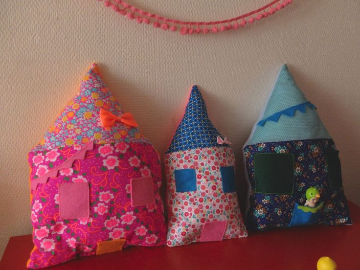 Mes coussins pour enfants : des coussins maison