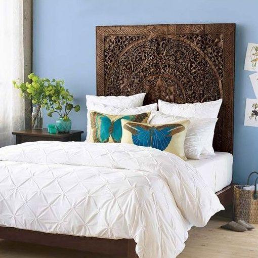 Coole Betten Arabesk Kopfteil Kissen Mit Schmetterling Muster
