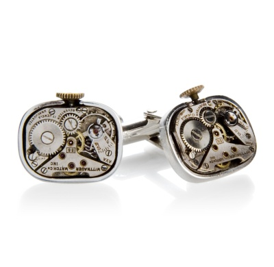 Tokens & Icons - Watch Collection Watch Movement Cufflinks