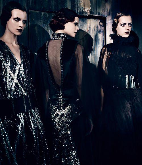 Alta Moda Vogue Italia September 2013 by Paolo Roversi