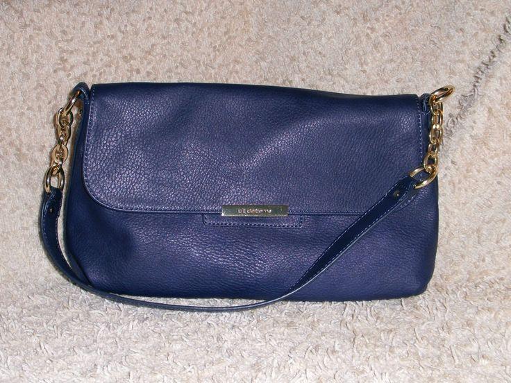 Liz Claiborne Blue Handbag #LizClaiborne #ShoulderBag