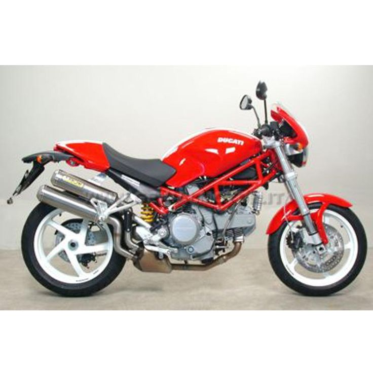 DUCATI MONSTER S2R / S4R 2003 / 2006 ARROW EXHAUST ROUND SIL TITANIUM - Moto - ARROW - EXHAUST - Online Shop - Genialmotor