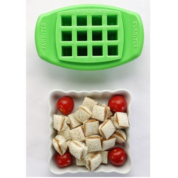Funbites Food Cutter Cube It – Green