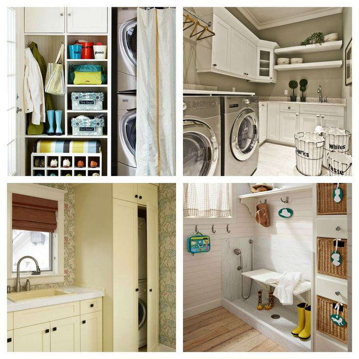Laundry and Mudroom Ideas from Remodelaholic. #laundry_room #mudroom