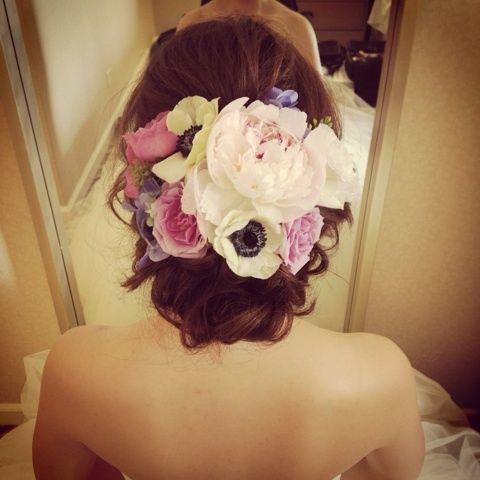 Cute系ポニーテール の画像|Satomi の ハワイブライダルヘアメイク 『Satomi no sonogo』