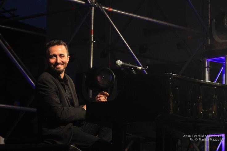 Tappa a Varallo. #GiuseppeBarbera #Arisa #Amami #concert #pianist