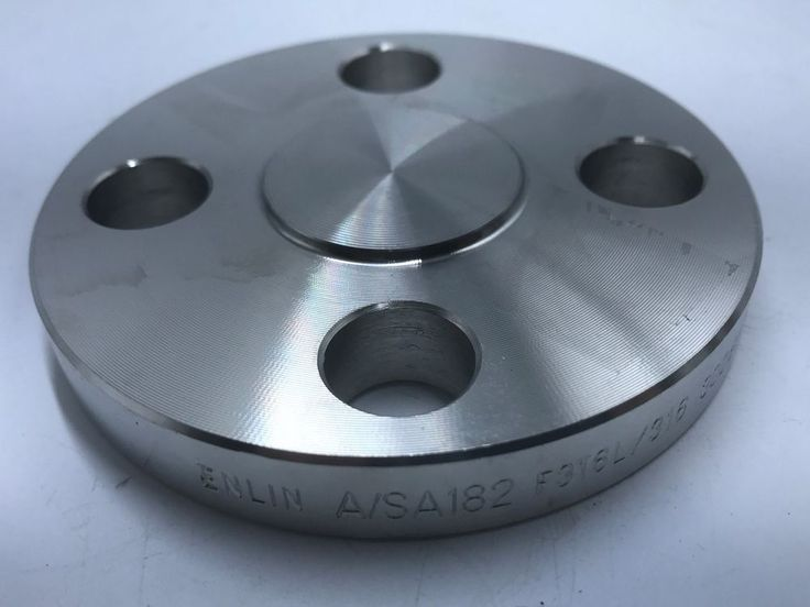 """Stainless Steel 316/316L Blind Pipe Fitting Flange Class 300 1/2"""" Pipe Size #MeritBrass"""