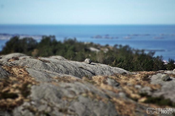 Stone sphere View from Presten  #haugesund #puzzlesphoto