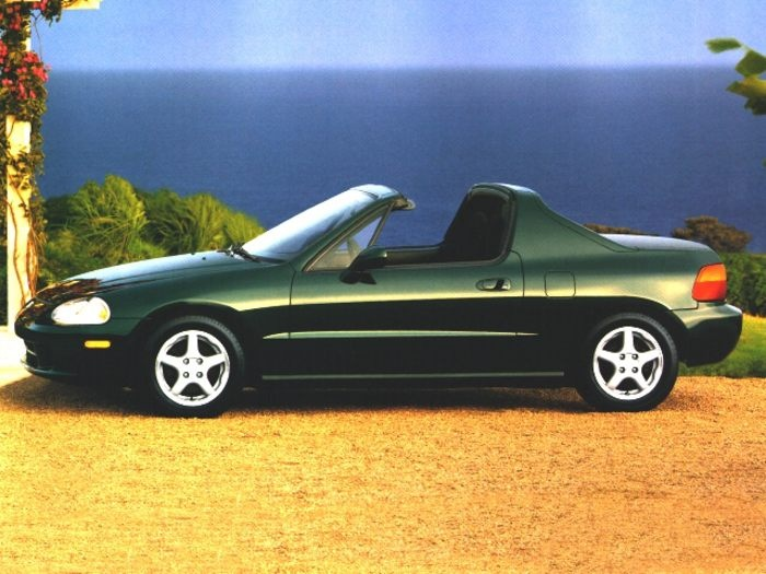 My 1997 Honda del Sol VTEC.  I'm the original owner and have only put 55,500 miles on this car in the 15 years I've owned it.