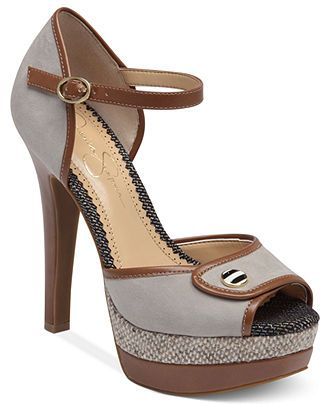 Jessica Simpson Shoes, Barnaby Platform Sandals - Jessica Simpson - Shoes - Macy's