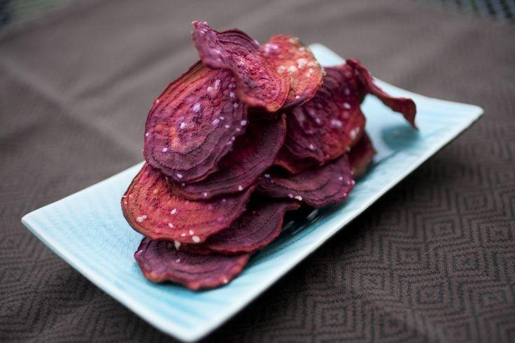3. Ricetta per chips di barbabietola ottimo come spuntino da sgranocchiare