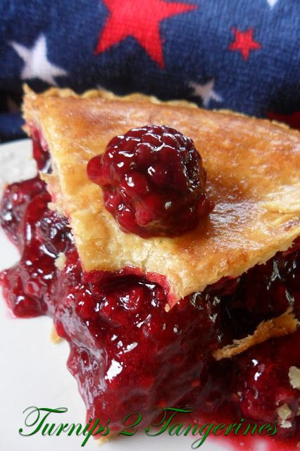 On the Menu Today~   Bumbleberry Pie     Try This Wonderful Mixed Berry Pie~   It's a Real Firecracker~