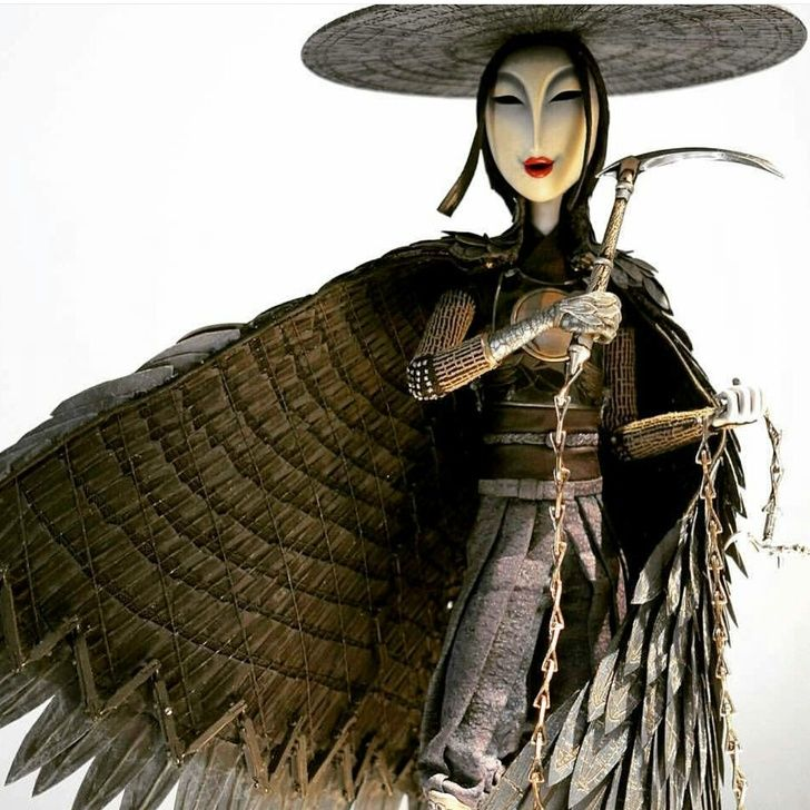 Sister (Kubo and the Two Strings) Costume Help - Album on Imgur