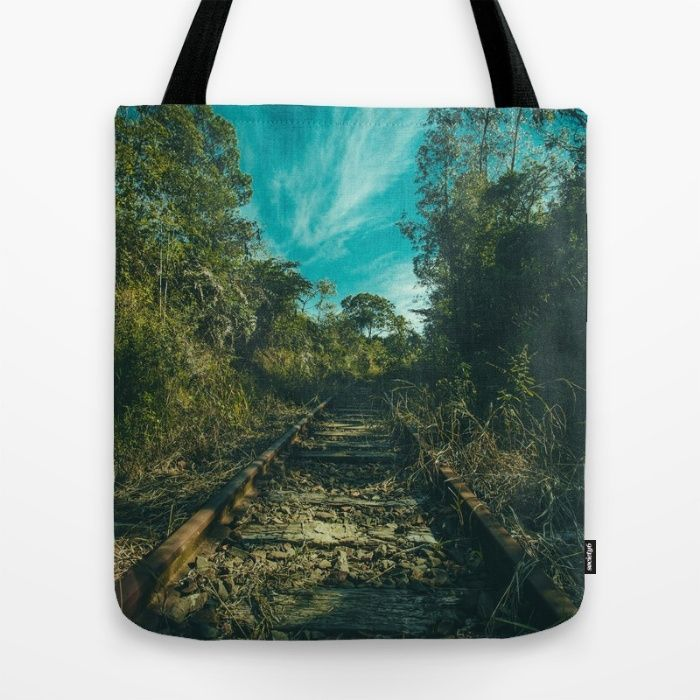 Abandoned Tote Bag by Mixed Imagery | Society6