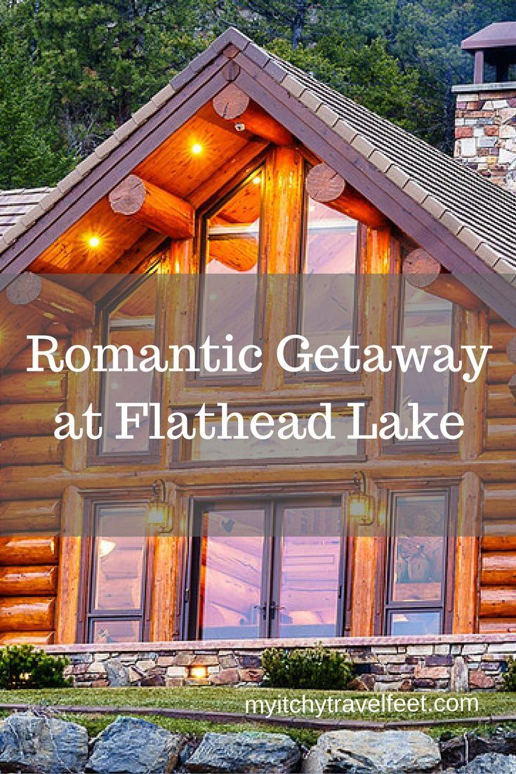 Are you looking for a romantic getaway at Montana's Flathead Lake? Coyote Bluff Estate in Somers is your answer. This luxury log home bed and breakfast makes a wonderful headquarters for exploring Kalispell, Whitefish and Flathead Lake. Plus it's only 40 minutes from the west entrance to Glacier National Park.