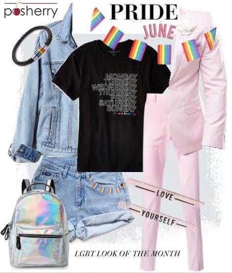 LGBTQ Pride Month - Fashion Set