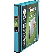 Buy Staples Better 1-Inch D 3-Ring View Binder, Teal (13466-CC) at Staples' low price, or read customer reviews to learn more.