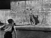 FOOTBALLER AND SHADOW, SOUTHAM STREET, LONDON, 1956 by MAYNE, ROGER (1929-2014 ) - photograph for sale from Beetles & Huxley
