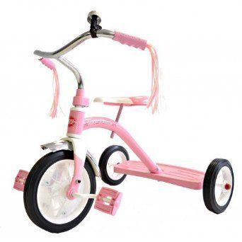 Radio Flyer Classic Pink Trike Amazon Co Uk Toys Amp Games